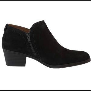 Naturalized Zarie Black Suede Size 7.5 NIB